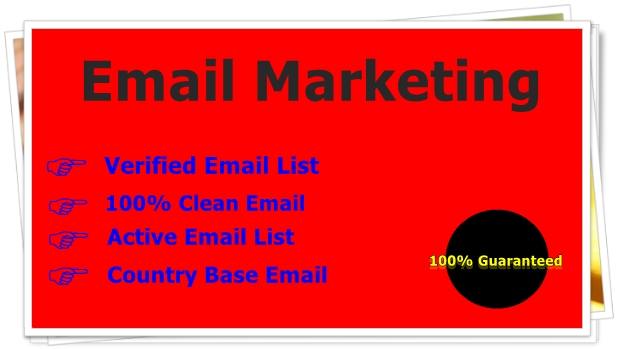Provied 100 Emails List,  Fast & Trusted