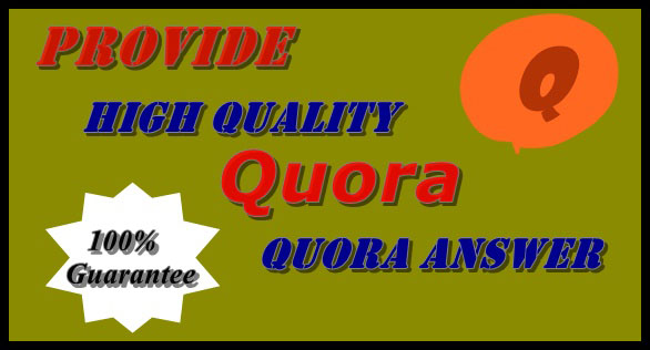 Promote your website by creating 12 HQ Quora Answer for targeting traffic