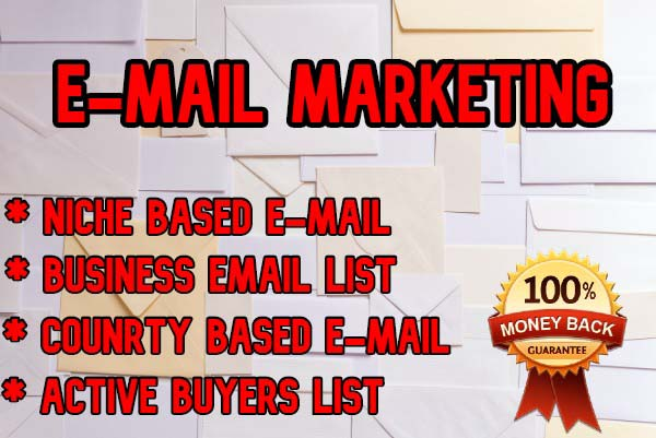 I will provide 5000 niche targeted e-mail