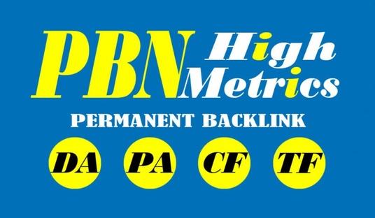 I will do 50 PBN unique domain dofollow DA 20+ High quality backlinks