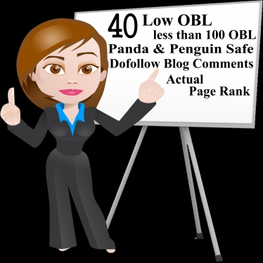 i will do 40 low obl blogcomment backlinks