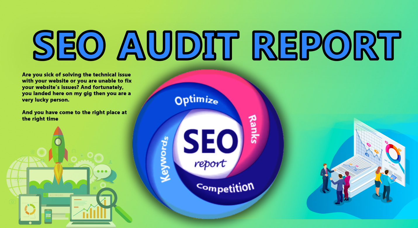 I will provide a professional SEO audit report and keywords for your website