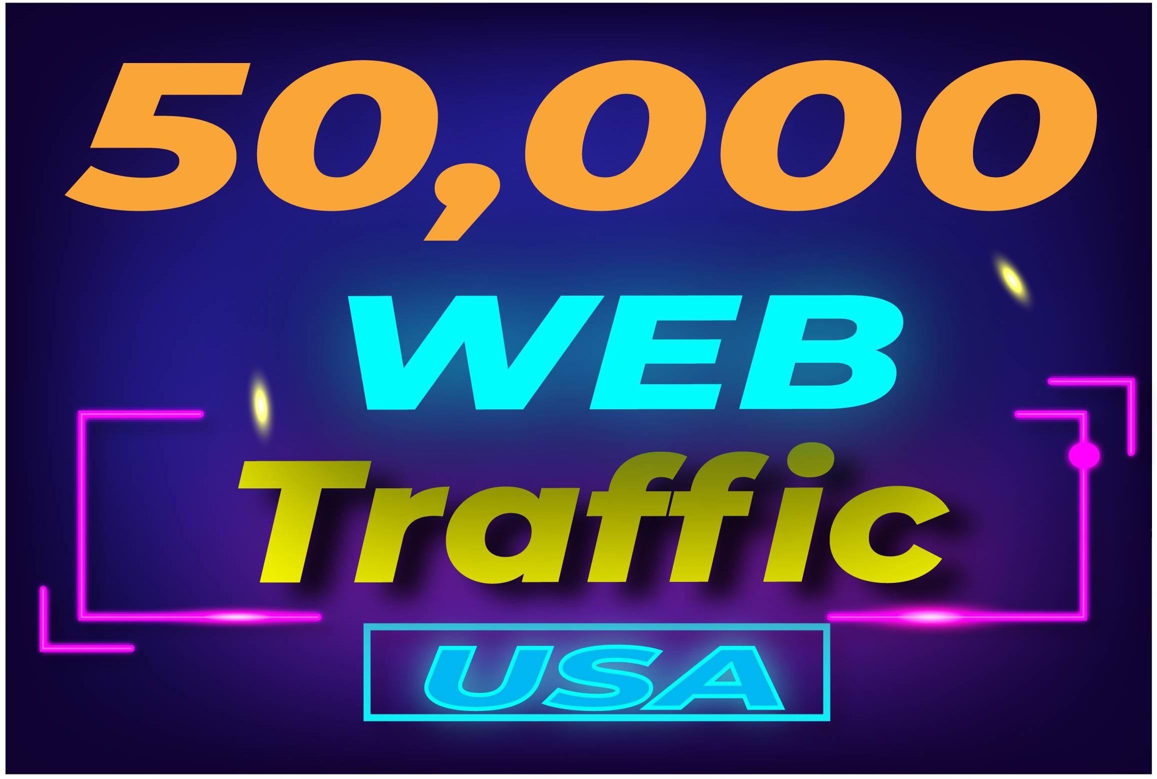 50,000+ USA/UK High Quality Ranking Website Traffic