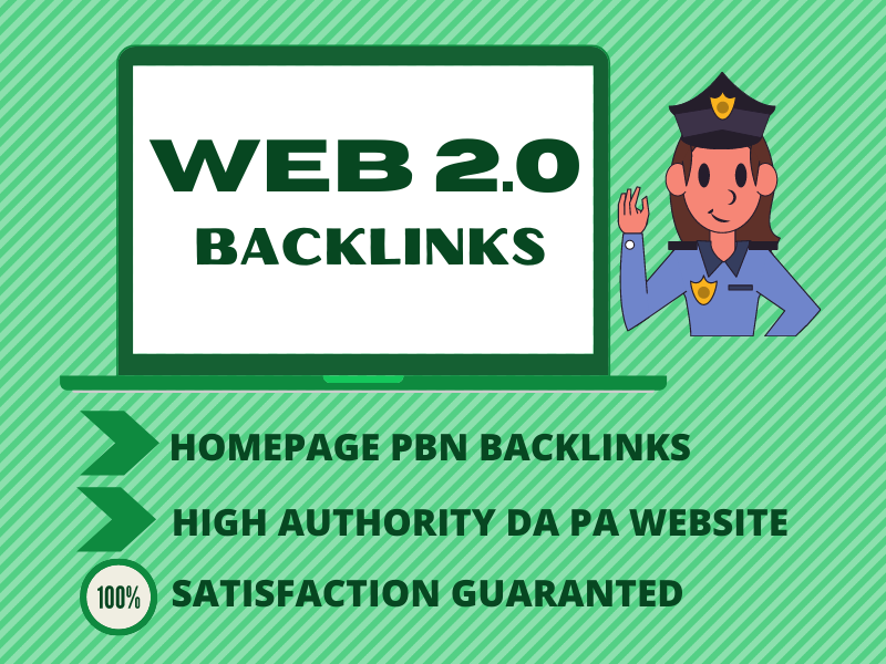 25 PERMANENT Web2 BACKLINKS WITH HIGH AUTHORITY DOFOLLOW PBN Website
