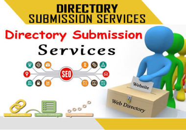 I will create 100 manually directory submission backlinks