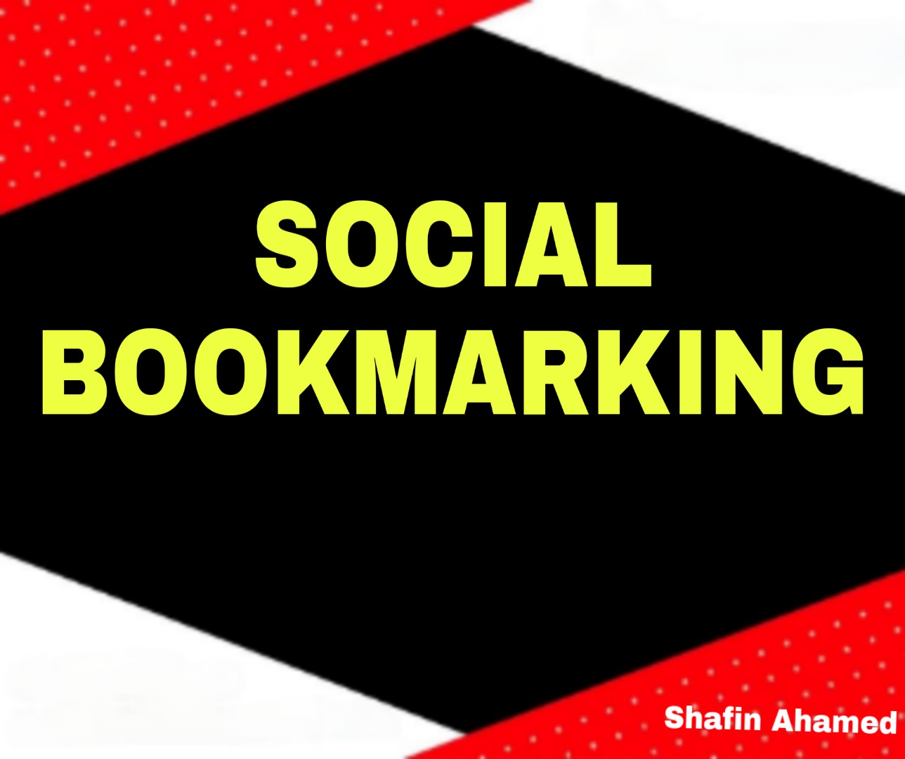 I Will 40 Create High Quality Social Bookmarking SEO Backlink