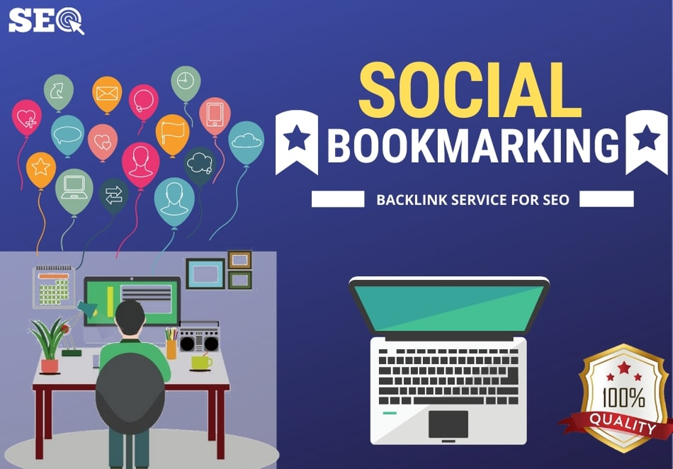 I will provide authentic 50 Social Bookmarking Backlink services for your website