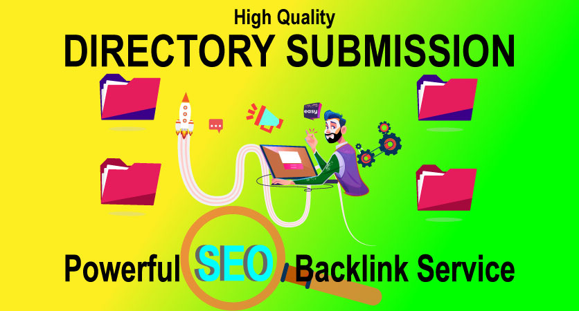 I will provide 50 manually HQ Directory Submission to increase your web traffic