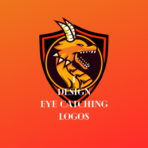 I can make eye catching logo for your work.