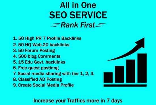 I Will Build High PR Quality Do follow Off Page SEO Backlinks