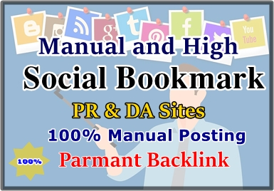 I Will Publish Your Website 15 Top Quality Social Bookmarking Manually On High Sites