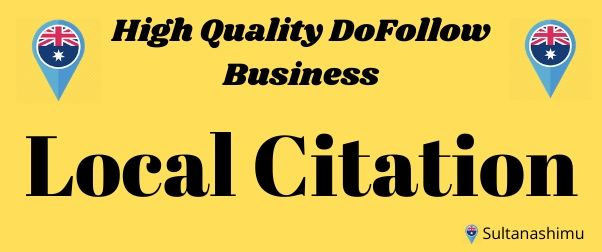 I will high quality 40 local citations or local listing high authority backlinks for your website