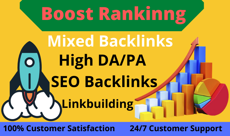 120+ permanent SEO Backlinks & linkbuilding Combo package for boost ranking