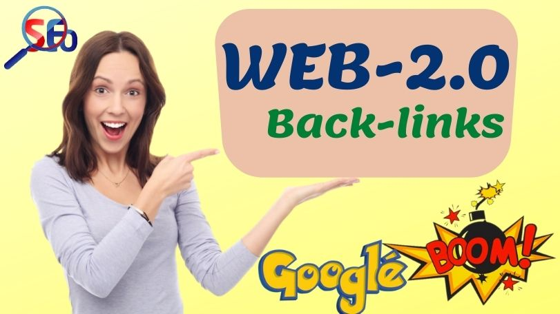 Build 25 High Quality WEB-2.0 Blog back-links with an Unique article