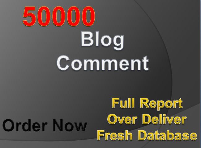 Providing 50K GSA Blog Comments Backlink for Google SEO