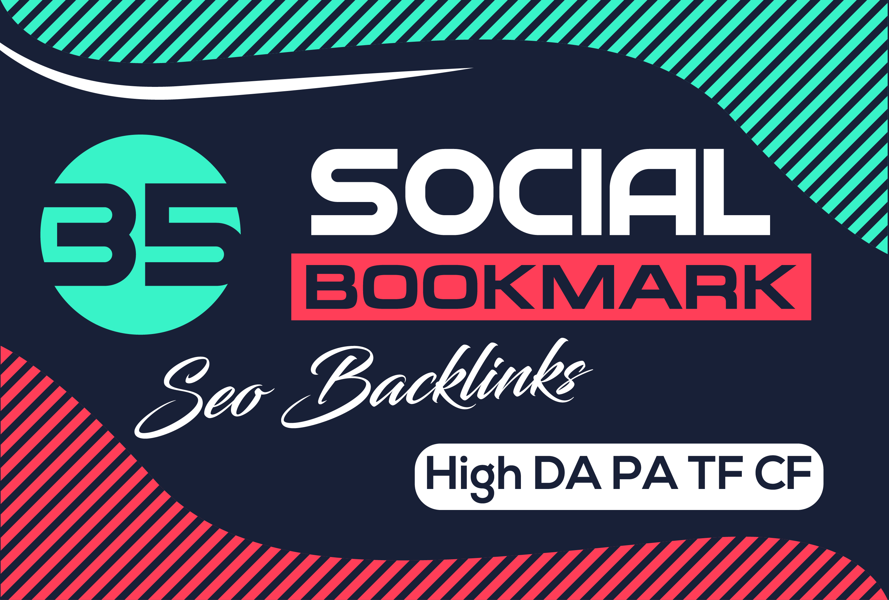 i will submit top 35 social bookmarks on high DA PA TF CF Sites