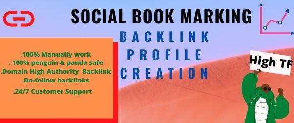 I will provide 30 social books marking for your website