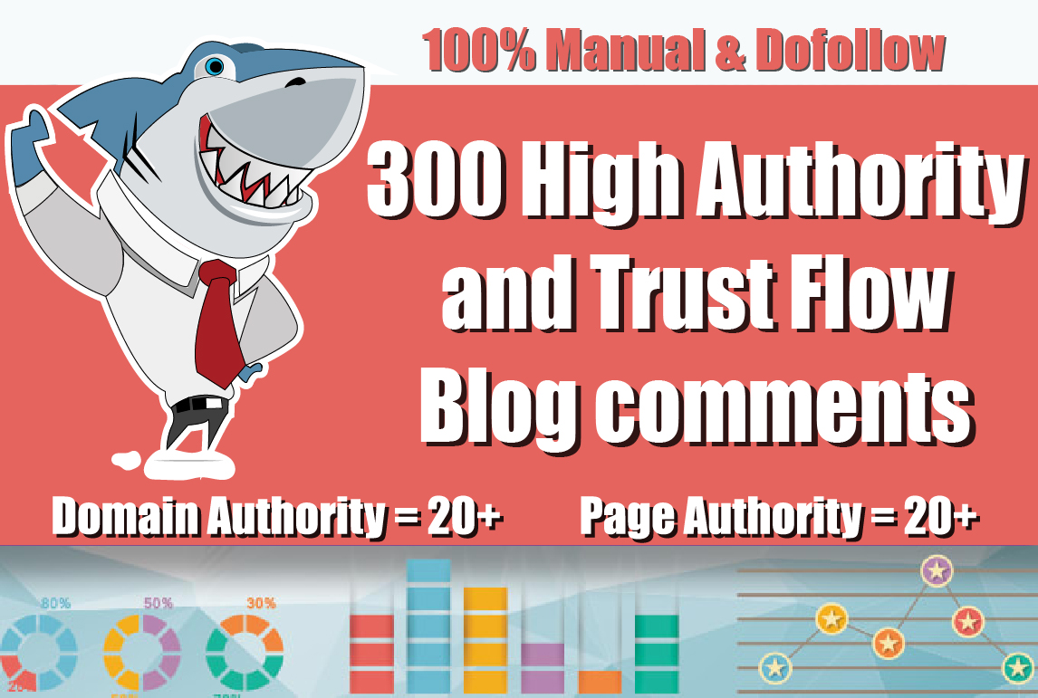 Create 300 Dofollow Link Building Blog Comments Seo Backlinks on high DA PA and Actual Page