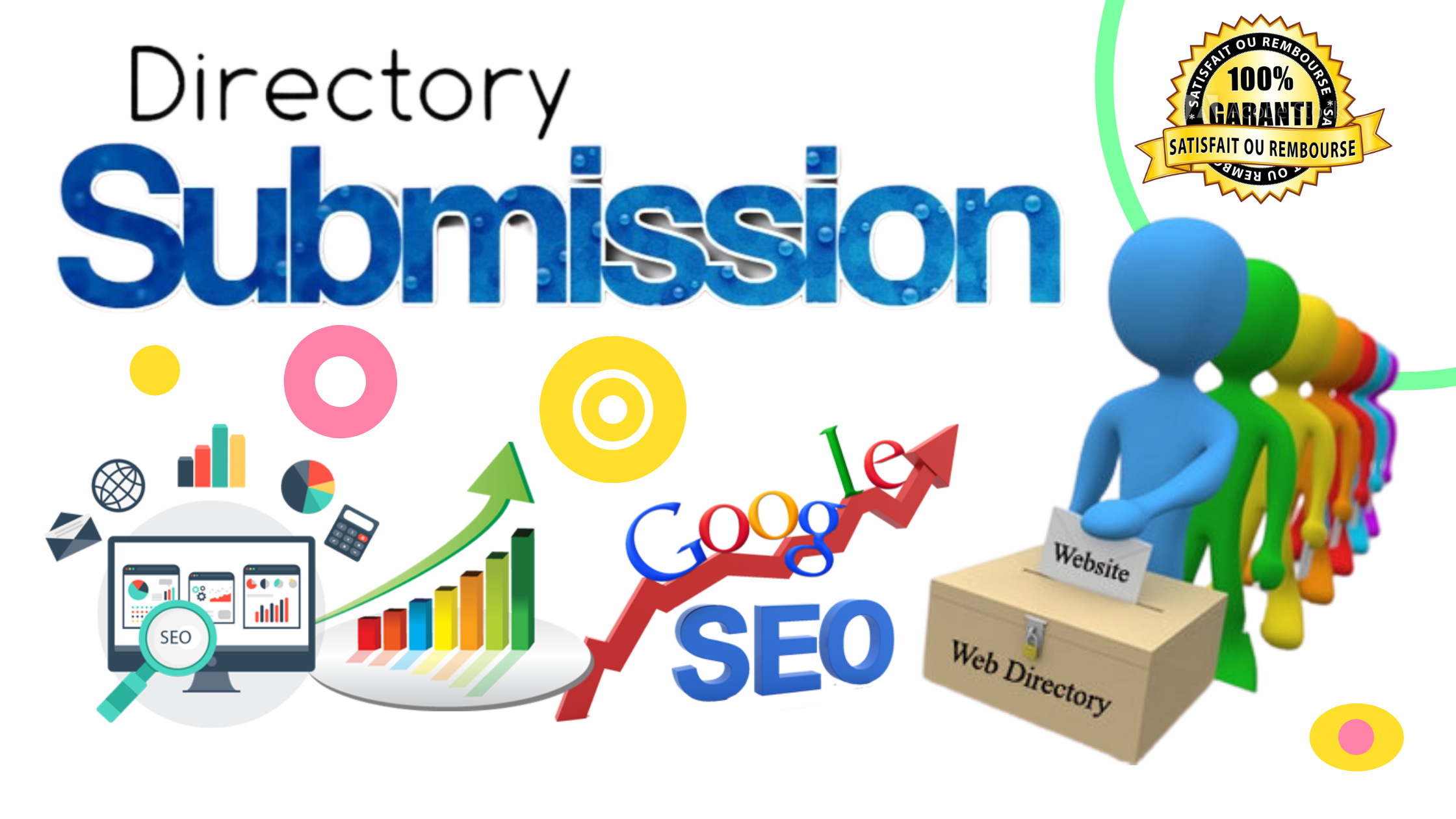 I will provide 100 directory submission SEO backlinks
