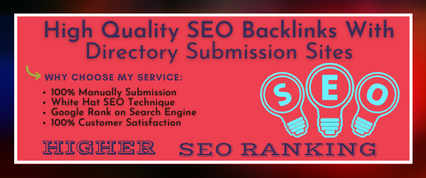 30 High Quality Directory Submission backlinks for your website