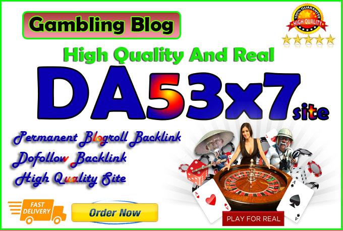 give you da53x7 site gambling blogroll permanent