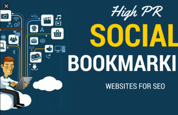 I will do 100 social bookmarking on high da and PR sites manually