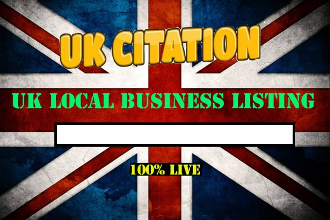 Create 50 Live Citation For Local UK Business