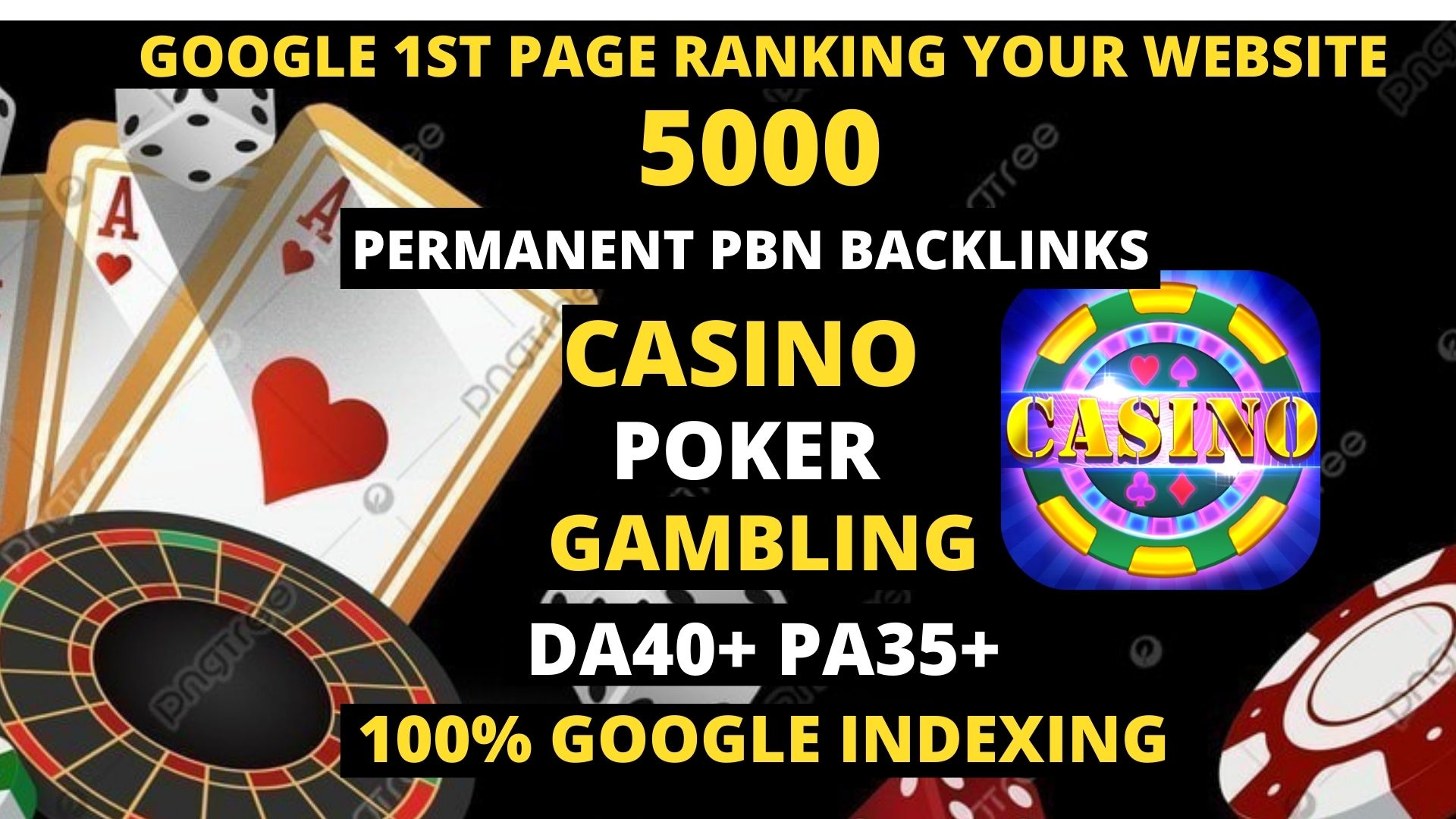 Permanent 5000 powerful Casino,  Gambling,  Poker,  Sports High Quality Web2.0 Backlinks