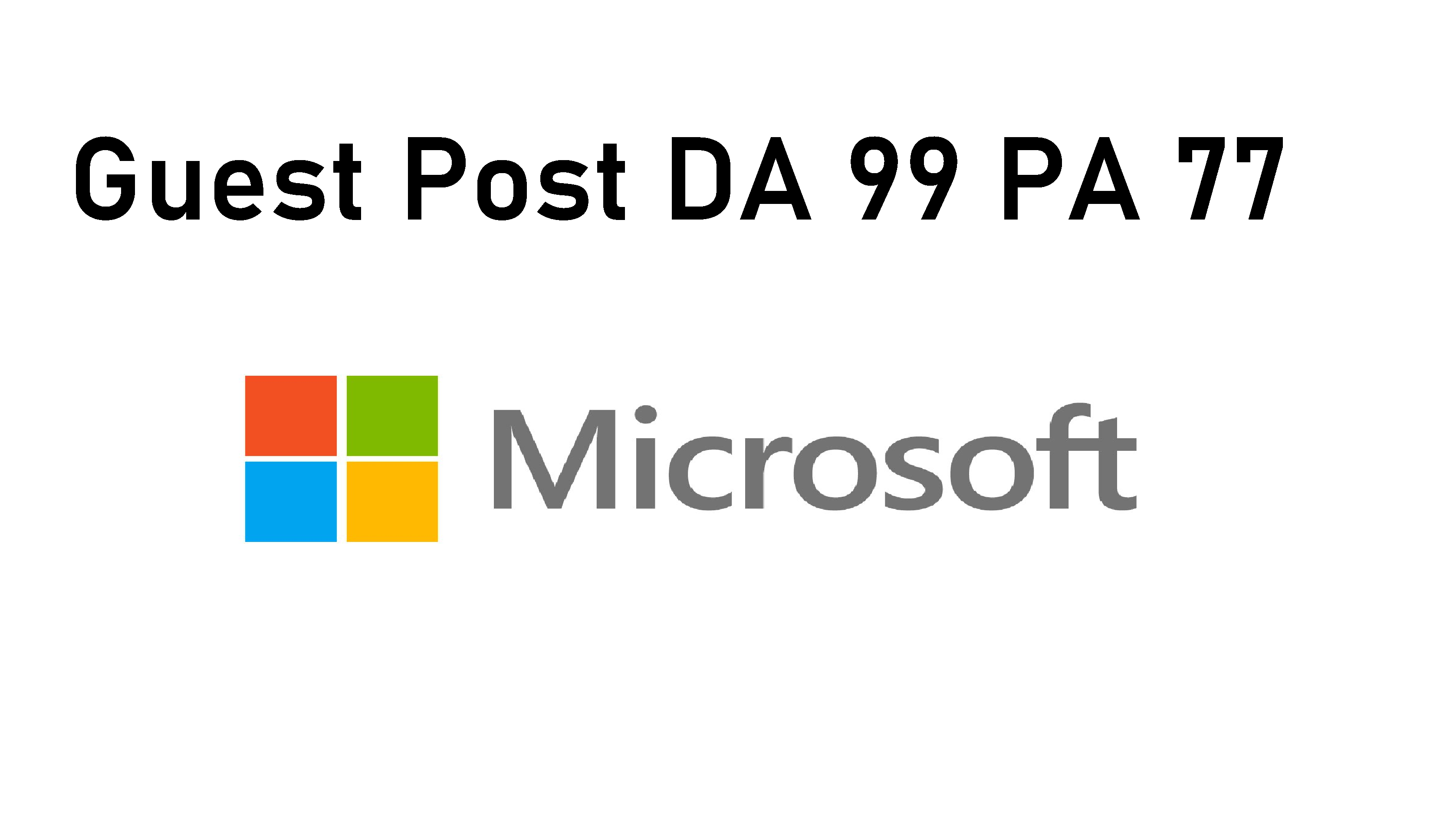 I Will Publish Guest Post on Trainingsupport.Microsoft High Authority Sites
