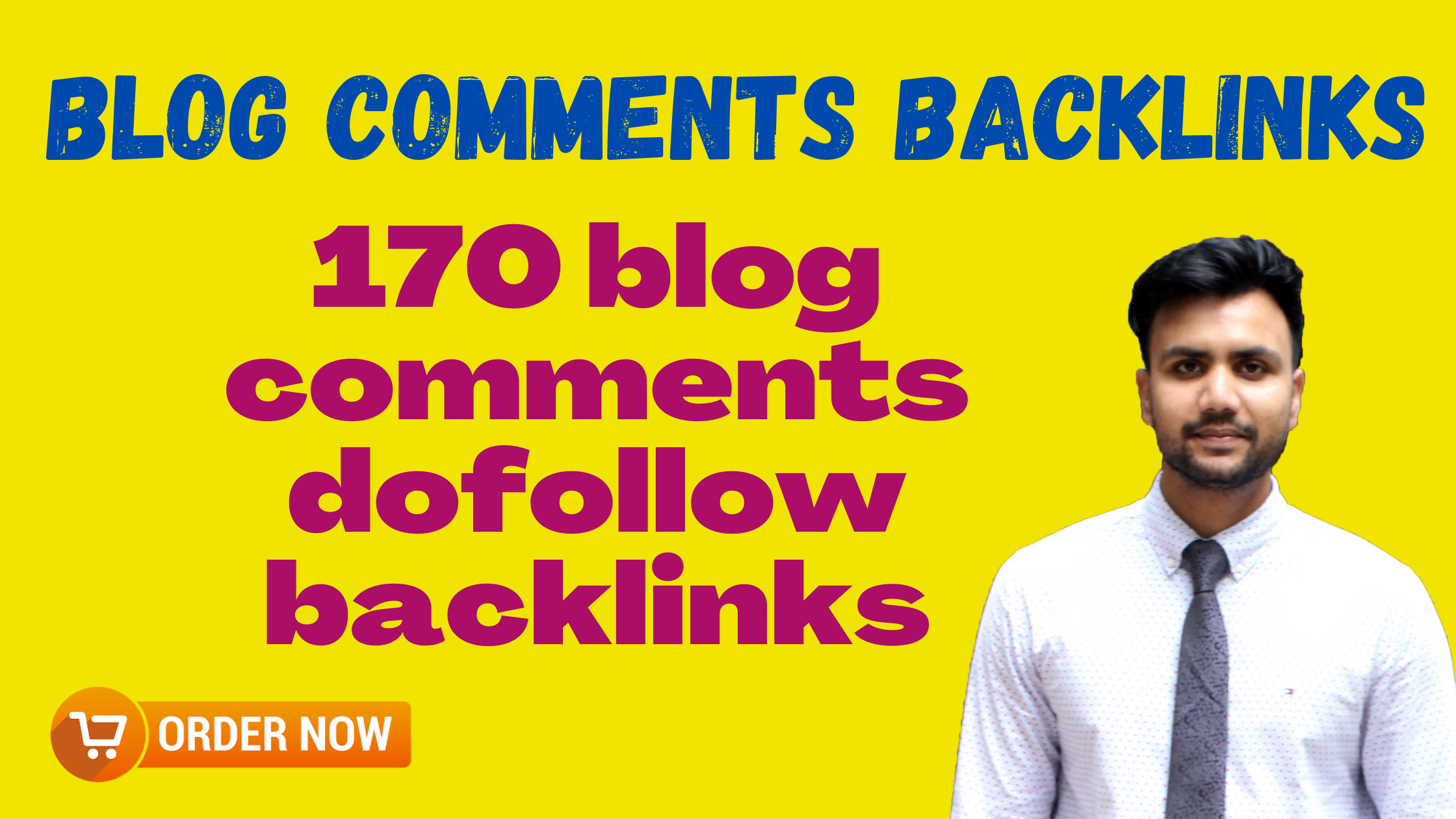 I will make 170 high quality blog comments dofollow backlinks
