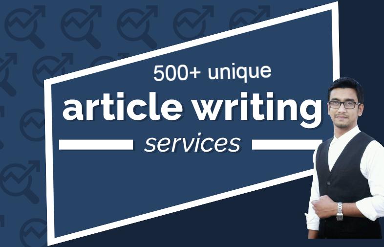 I will write 500+ unique SEO article