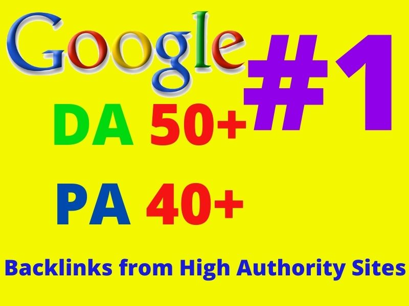 1450 Affordable Permanent Do follow High Quality Backlinks Service with High DA PA