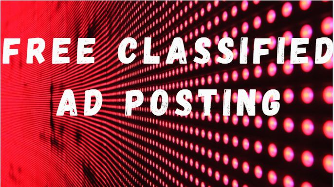 Free Classified Ad Posting on USA UK CANADA Ad Posting Sites