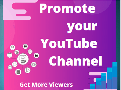 I will promote your youtube video promote link
