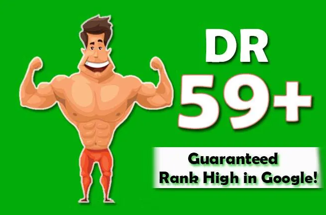 I will increase your domain rating DR 50+ for website ranking
