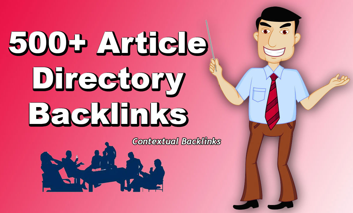 500+ Article Directory Backlinks