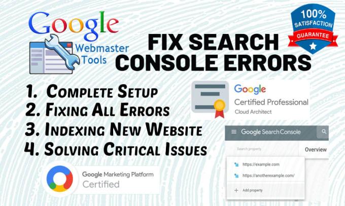 Fix google search console, adsense,  analytics,  sitemap XML