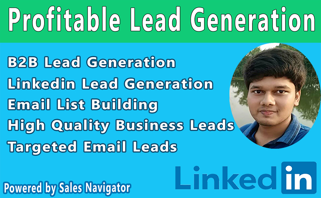 I will do b2b lead generation and collect targeted email