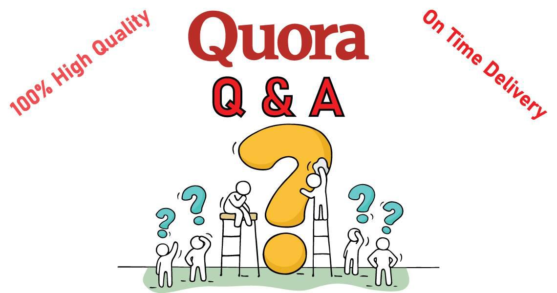 I will do 11 unique manual quora answer