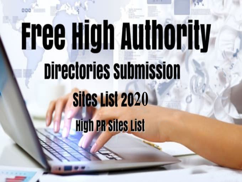 I will do 300 high authority web directory submission manually