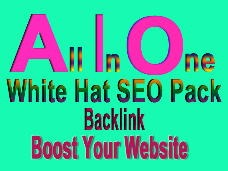 I will Provide You All In One White Hat SEO Package Backlink