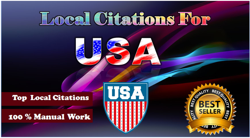 we will build 40 top USA local citations