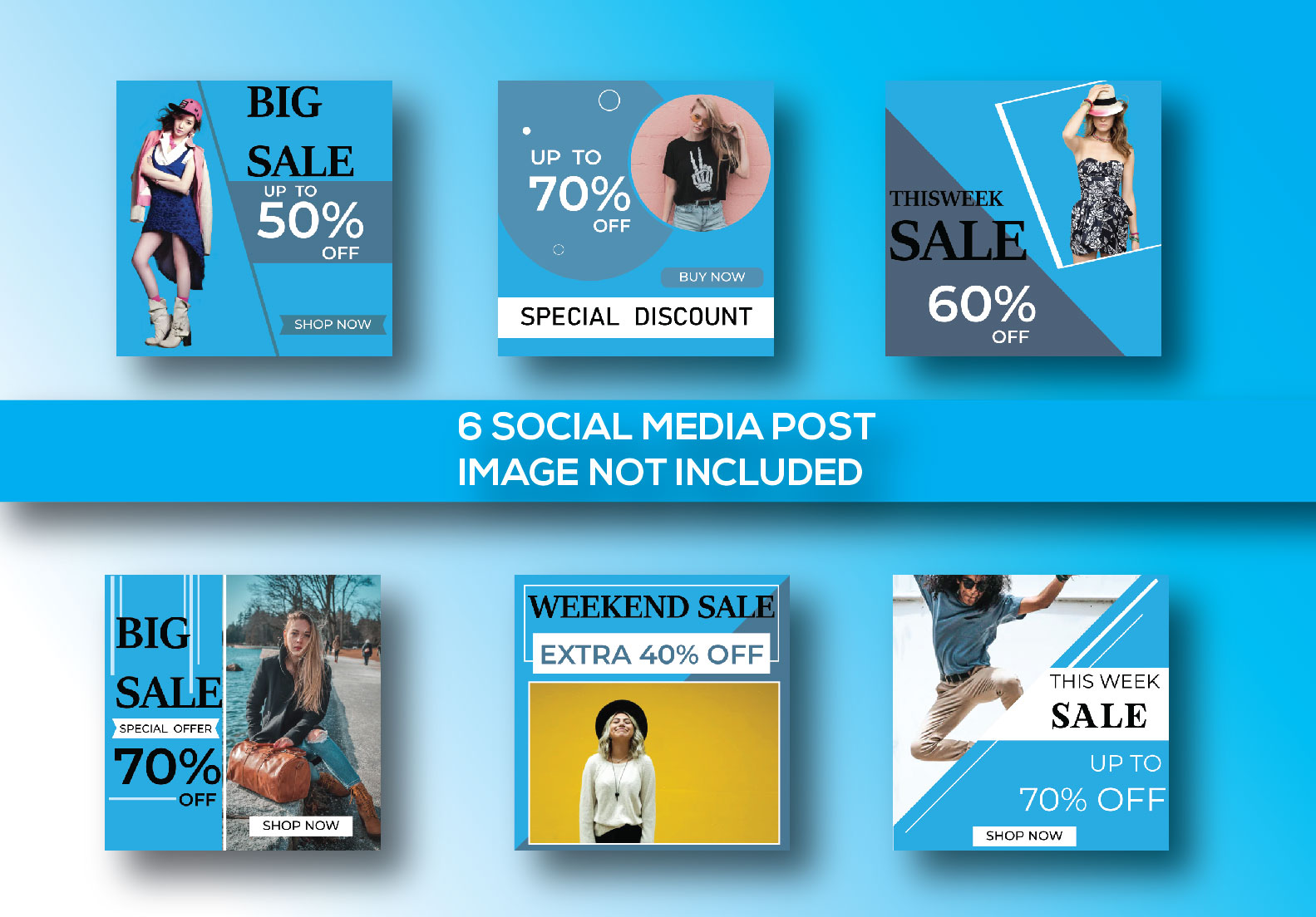 I will provide you 100 Social post Design for your targated niches.