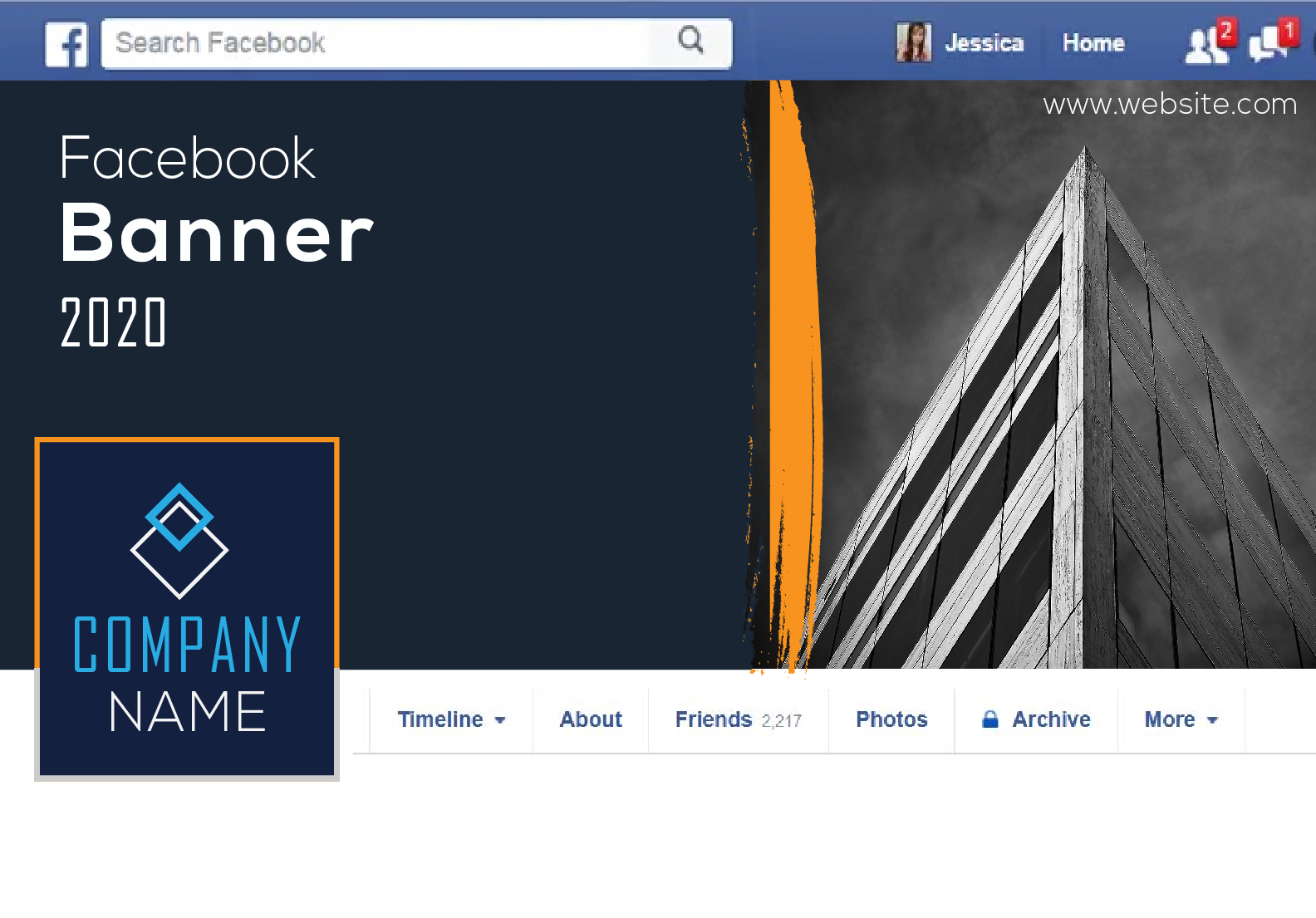 Design professional Facebook Banners