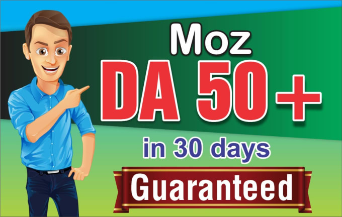 Increase moz domain authority DA 50 plus Quickly