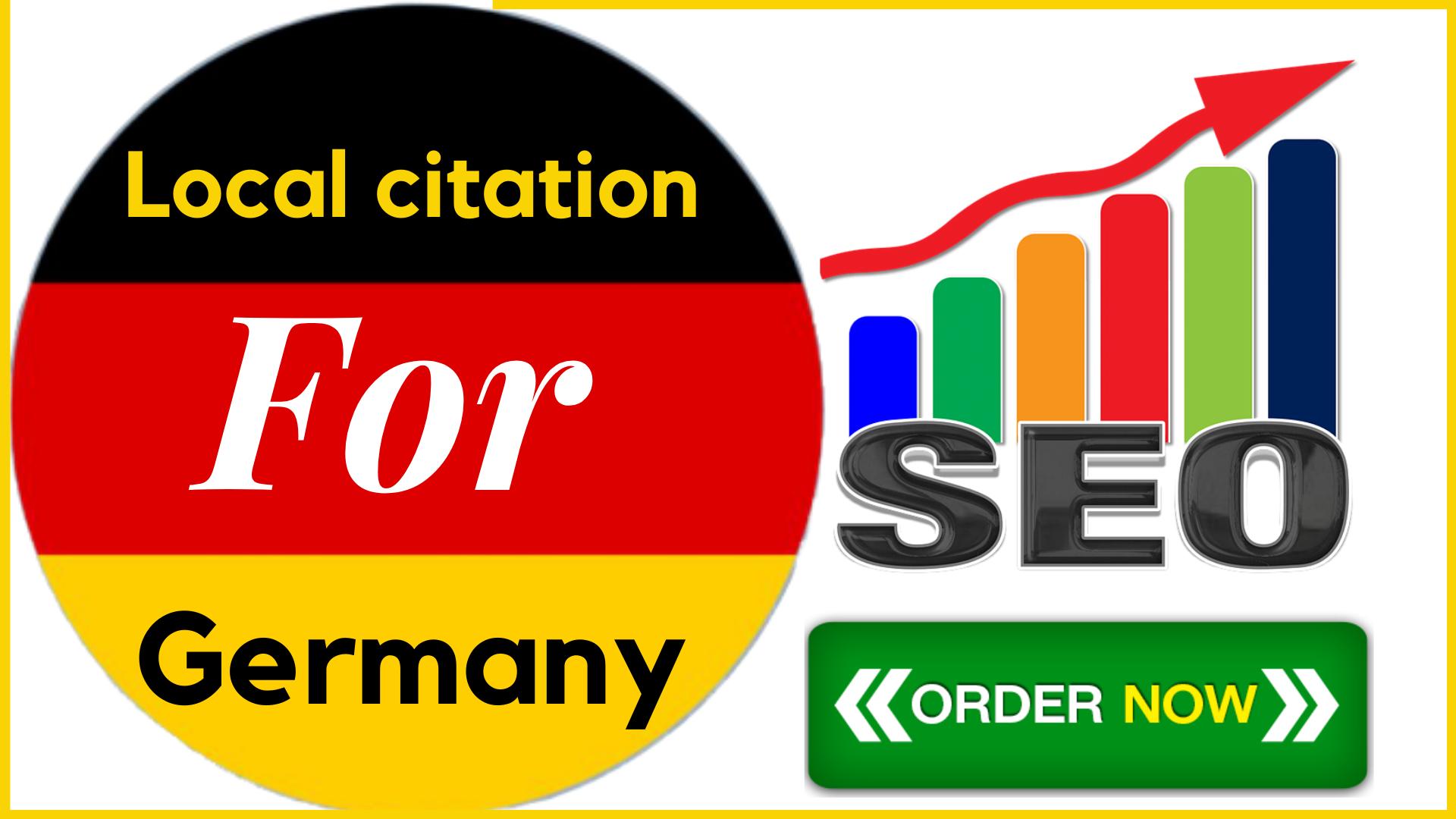 I will do 25 high PR Germany citations