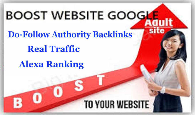 I will do dofollow adultity backlinks through the blog post