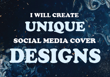 I will create unique social media cover designs.