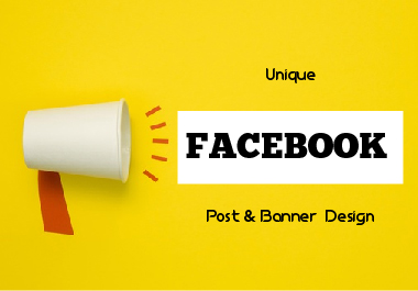 I will make 10 facebook Banner or Post design