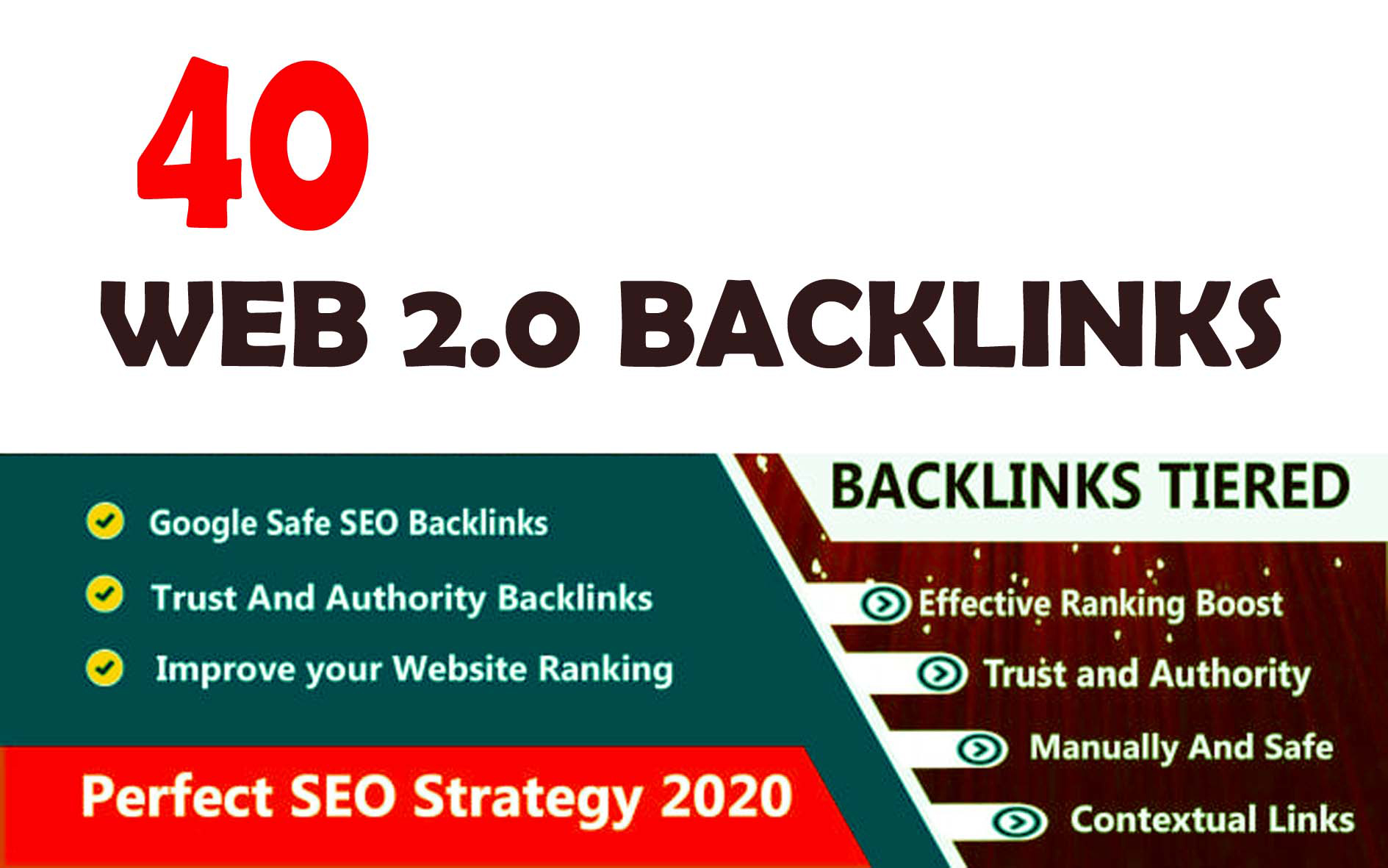 Build 40+ Backlink with 30+ Da 35+ PA DOFOLLOW and Homepage pbn with 40+unique websile link